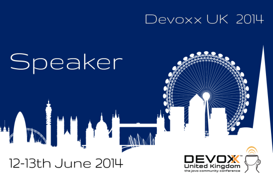 I'm speaking at Devoxx UK!